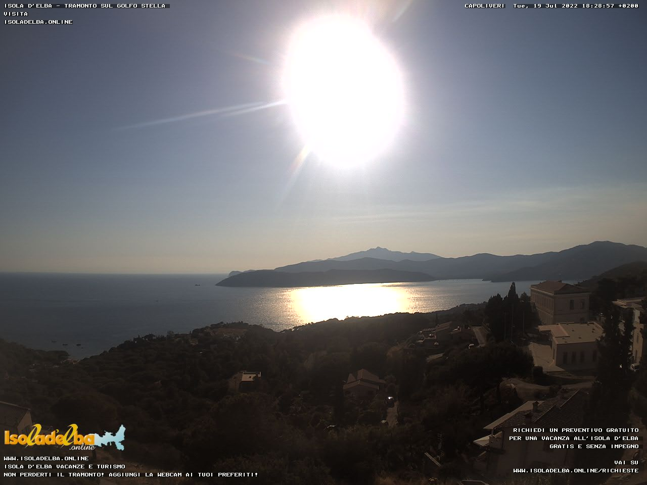 Webcam su Golfo Stella